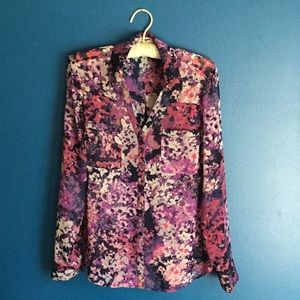 Express Fab Portofino Button Down Shirt in Small